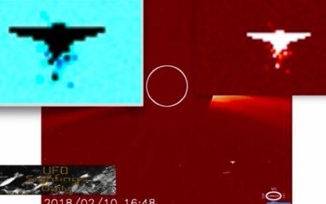 Уфологи нашли на снимках NASA таинственное НЛО-ангела